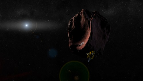 NASA-ს ზონდი New Horizons-ი იდუმალ წითელ ობიექტს უახლოვდება
