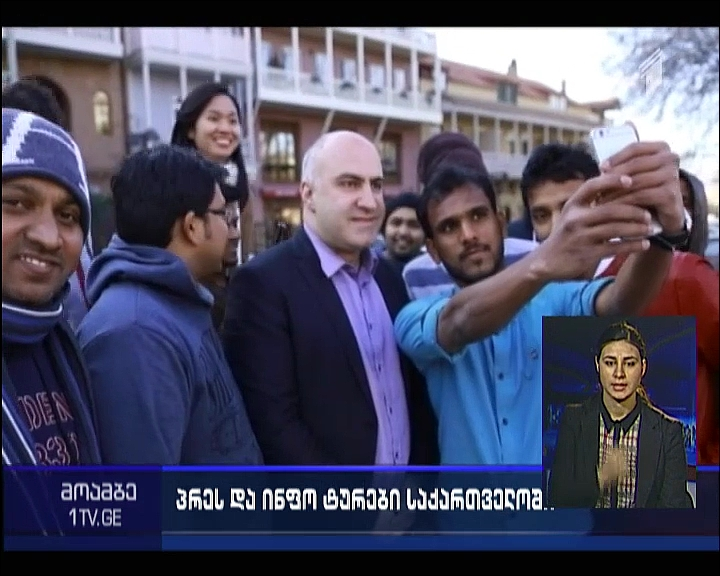 Journalists, tour-operators from Qatar visit Georgia