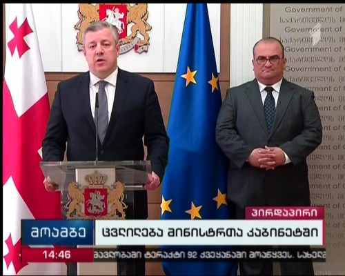 Staff changes in Georgian Government