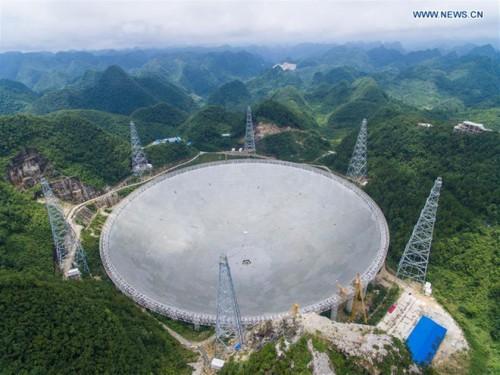 ჩინეთის გიგანტურმა რადიოტელესკოპმა კოსმოსში არამიწიერი ცივილიზაციების ძებნა დაიწყო