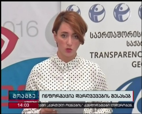 TI Georgia  raise the issue  of changing the electoral system