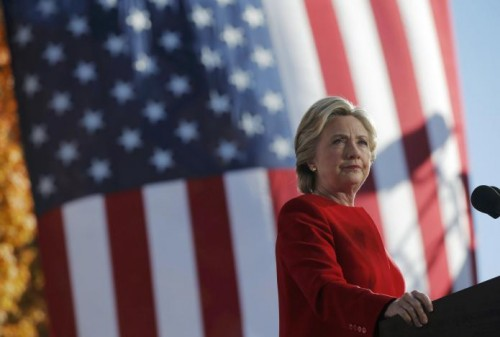 Clinton has 90 percent chance of winning: Reuters/Ipsos States of the Nation