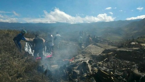 Indonesia air force plane crashes, killing all 13 on board