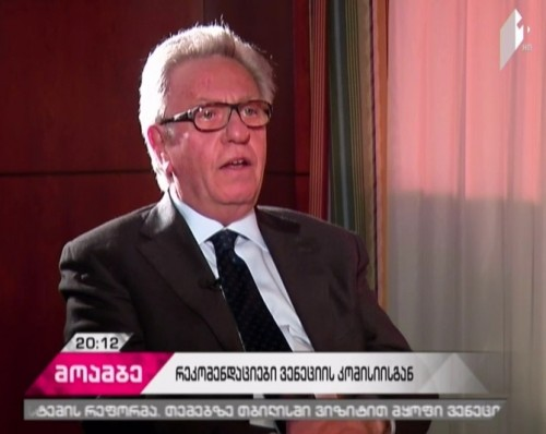 """Exclusive interview of """"Moambe"""" with Venice Commission President"""