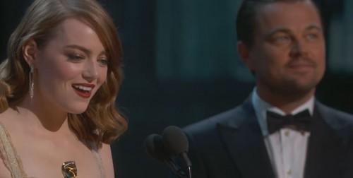 """საუკეთესო ქალი მსახიობის კატეგორიაში """"ოსკარი"""" ემა სტოუნმა მიიღო ფილმისთვის  """"ლა ლა ლენდი"""""""