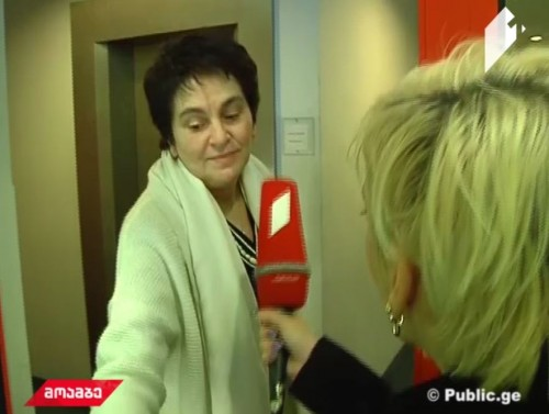 First comment of Shorena Tetruashvili with GPB