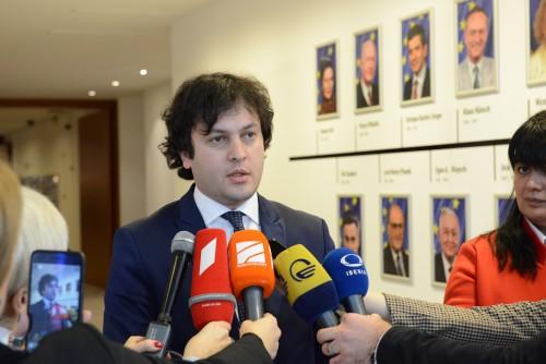 Chairman of Georgian Parliament congratulates Georgian citizens with the historical decision