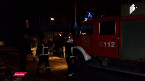 Man dies in fire in Telavi