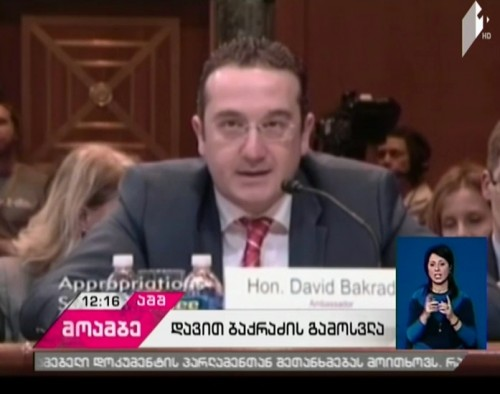Georgian Ambassador in US delivers speech in Senate