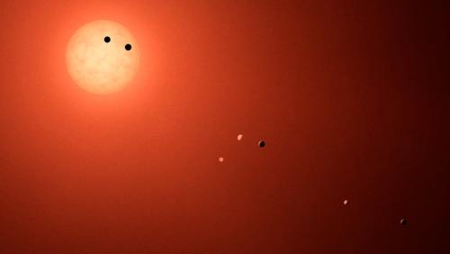 კეპლერის ტელესკოპმა ახლახან აღმოჩენილი სისტემა TRAPPIST-1-ის შესახებ დამატებითი ცნობები შეაგროვა