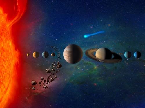 პლუტონს გადაღმა შესაძლოა ათასობით ჯუჯა პლანეტა იმალებოდეს - ანიმაცია