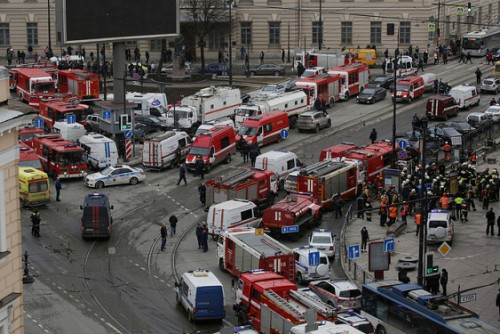 Death toll from St Petersburg metro bombing rises to 14