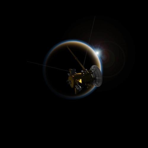 """""""კასინი"""" უკანასკნელად გადაუფრენს სატურნის მთვარე ტიტანს"""