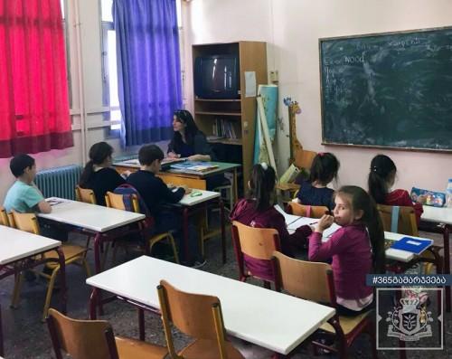 ქართული ენის გავკეთილი საბერძნეთის საჯარო სკოლაში პირველად ჩატარდა