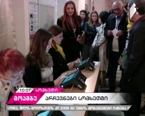 Vote count underway in Armenia's Parliamentary elections