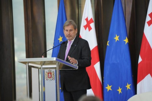 Johannes Hahn to visit Georgia