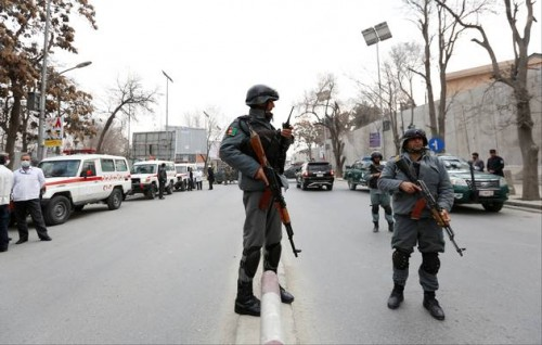 Afghan official: 3 civilians killed in bomb blast in Kabul