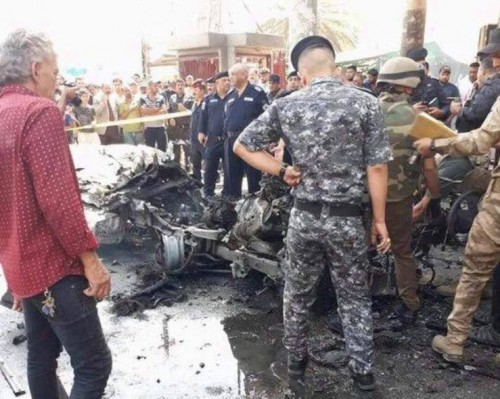 Suicide bomber kills eight at Baghdad ice cream shop