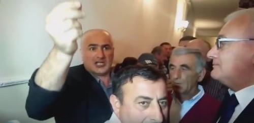 Public discussion amid noise in Martvili