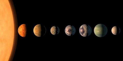 TRAPPIST-1-ის სისტემაში სიცოცხლე თავისუფლად მოხვდებოდა ერთი პლანეტიდან მეორეზე