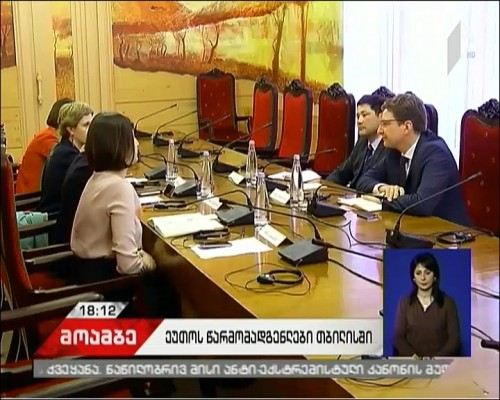 Media environment in Georgia - OSCE representatives hold meetings in Tbilisi