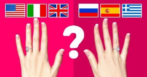 საქორწილო ბეჭედი - მარცხენა თუ მარჯვენა ხელზე?