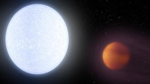 აღმოჩენილია ყველაზე ცხელი პლანეტა, რომელიც ვარსკვლავთა უმეტესობაზე მხურვალეა