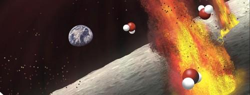 მთვარის ინტერიერში წყლის საკმაოდ დიდი მარაგი აღმოჩნდა, უფრო მეტი, ვიდრე აქამდე გვეგონა
