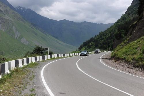 მცხეთა-სტეფანწმინდა-ლარსის საავტომობილო გზის 110-ე კმ-ზე მოძრაობა თავისუფალია