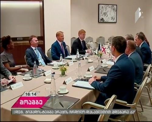President of European Investment Bank  met Georgia's Prime Minister