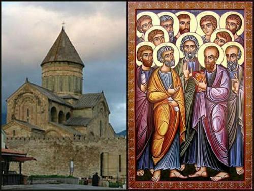 13 ივლისს მართლმადიდებელი ეკლესია სვეტიცხოვლობას აღნიშნავს