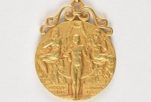 ბოსტონში 1908 წლის ოლიმპიადის ოქროს მედალი გაიყიდება