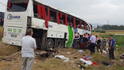 Georgian citizen is among those injured in Turkey's road accident