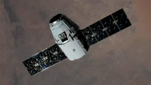 Space X-ის სატვირთო კოსმოსურმა ხომალდმა Dragon-მა საერთაშორისო კოსმოსური სადგურის ეკიპაჟს ნაყინი ჩაუტანა