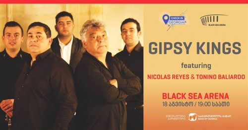 Concert of Gypsy Kings to be held at Black Sea Arena