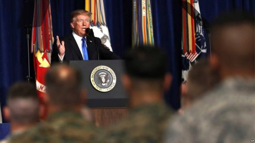 Donald Trump warns against hasty withdrawal from Afghanistan