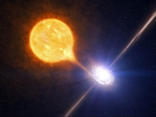 როგორ ეჯახება სუპერნოვა მეზობელ ვარსკვლავს - ასტრონომებმა პირველი კადრები დააფიქსირეს