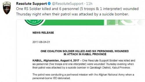 Suicide attack hits NATO convoy in Kandahar