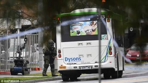 ავსტრალიის ქალაქ მელბურნში პოლიცია ასაფეთქებელ მოწყობილობას ეძებდა