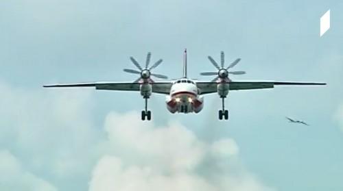 უკრაინული An-32P უკვე ბათუმშია [ვიდეო]