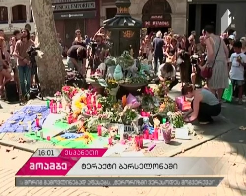 Spain in mourning after terror attack
