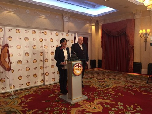 Alliance of Patriots presents Irma Inashvili as Mayoral Candidate