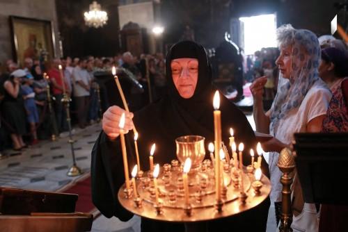 მარიამობა სიონის ტაძარში - ფოტოამბავი