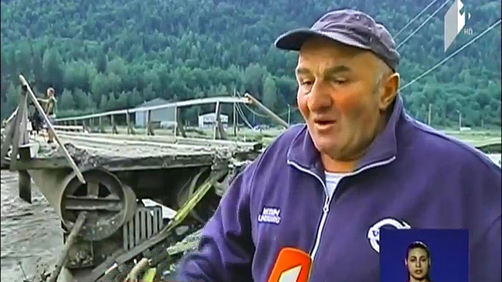 მესტიის რაიონში მდინარე მულხურა ადიდდა, 5 ხიდი წაიღო და უშგულისკენ მიმავალი საავტომობილო გზა დააზიანა