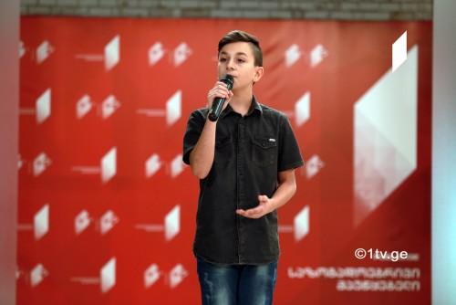 Grigol Kipshidze to present Georgia at 2017 JESC
