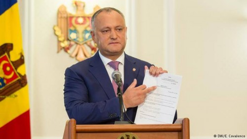Moldovan President Blocks Sending Troops to NATO Exercises