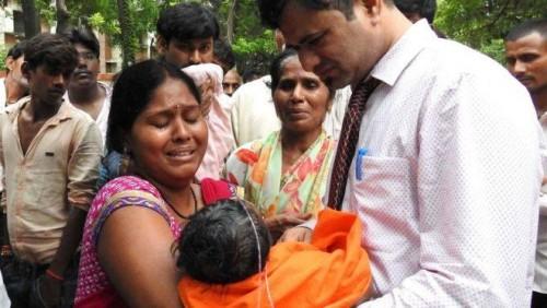 ინდოეთის პოლიცია უტარ პრადეშის შტატში ახალშობილების მასობრივი გარდაცვალების საქმეს იძიებს