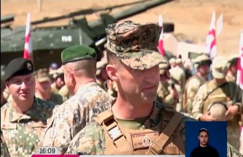 1,500 soldiers from 7 countries - military exercises at Orpholo Polygon