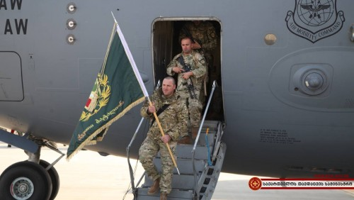 III ქვეითი ბრიგადის 31-ე ბატალიონი ავღანეთში ჩავიდა