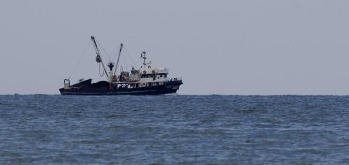 მიგრანტები შავ ზღვაში - რუმინეთის სასაზღვრო პოლიციამ თევზსაჭერ გემზე 87 მიგრანტი აღმოაჩინა